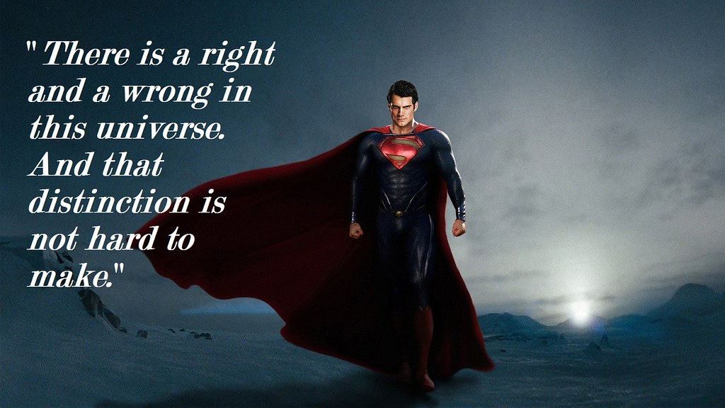 Superman Quote