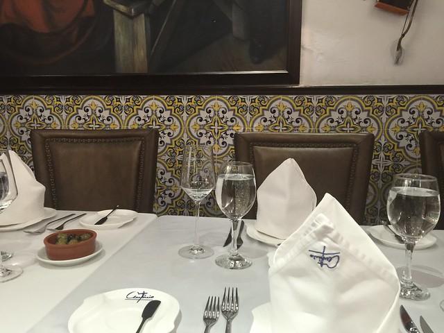 Restaurante portugués en Macao