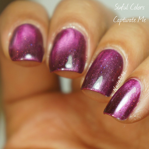 NailaDay: Sinful Colors Captivate Me