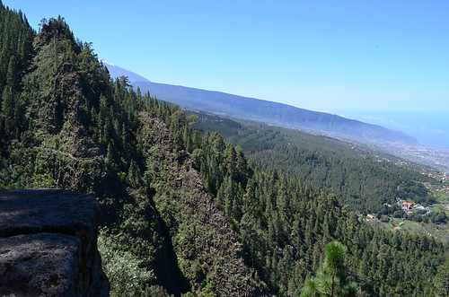 View from Los Organos route, Orotava Valley, Tenerife
