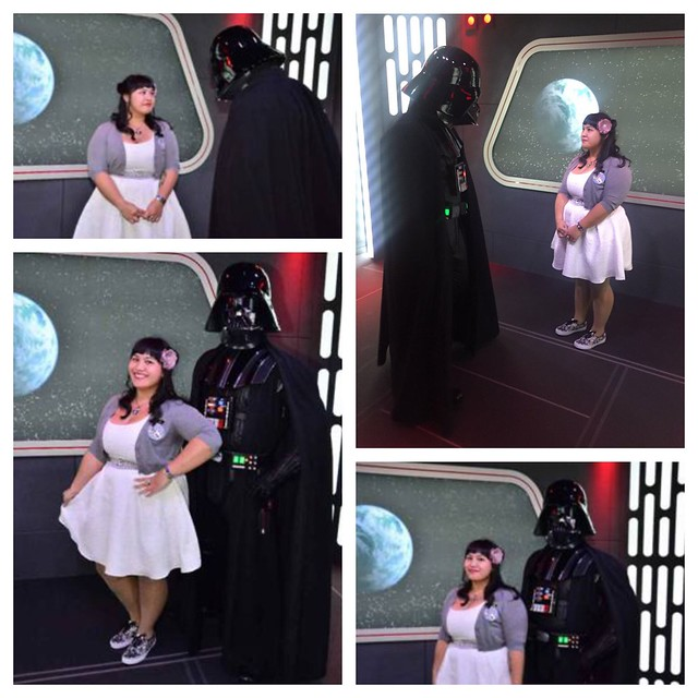 le fancy geek disneyland season of the force star wars darth vader her universe princess leia dress