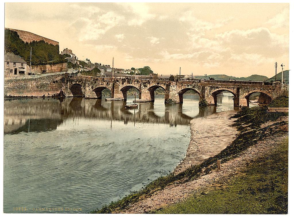 Bridge at Carmarthen