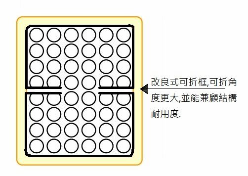 床墊可折設計說明4