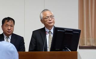 右:農委會主委陳志清 攝影:陳文姿