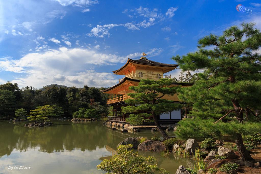 日本京都~鹿苑寺(金閣寺)