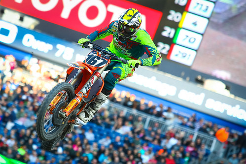 Benny Bloss Metlife Supercross