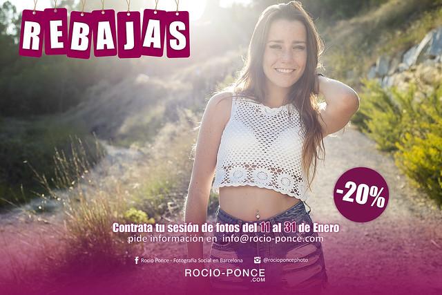 Rebajas 2016 en Rocio Ponce - Fotografía Social en Barcelona