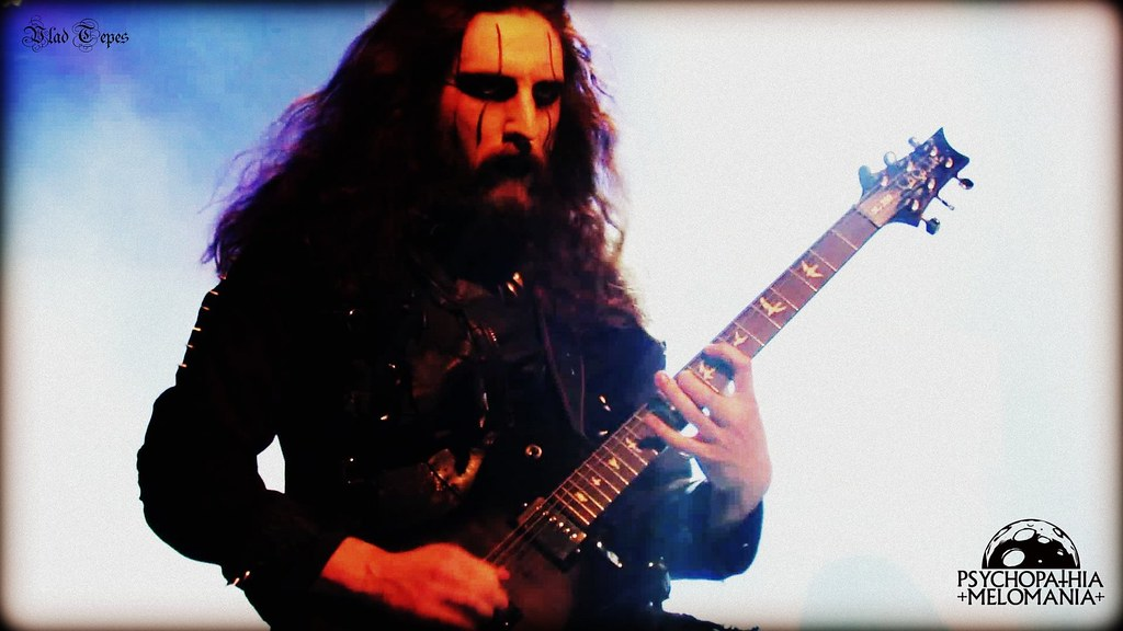 Richard Shaw @Cradle of Filth, Trix, Anvers, Belgique 29/10/2015