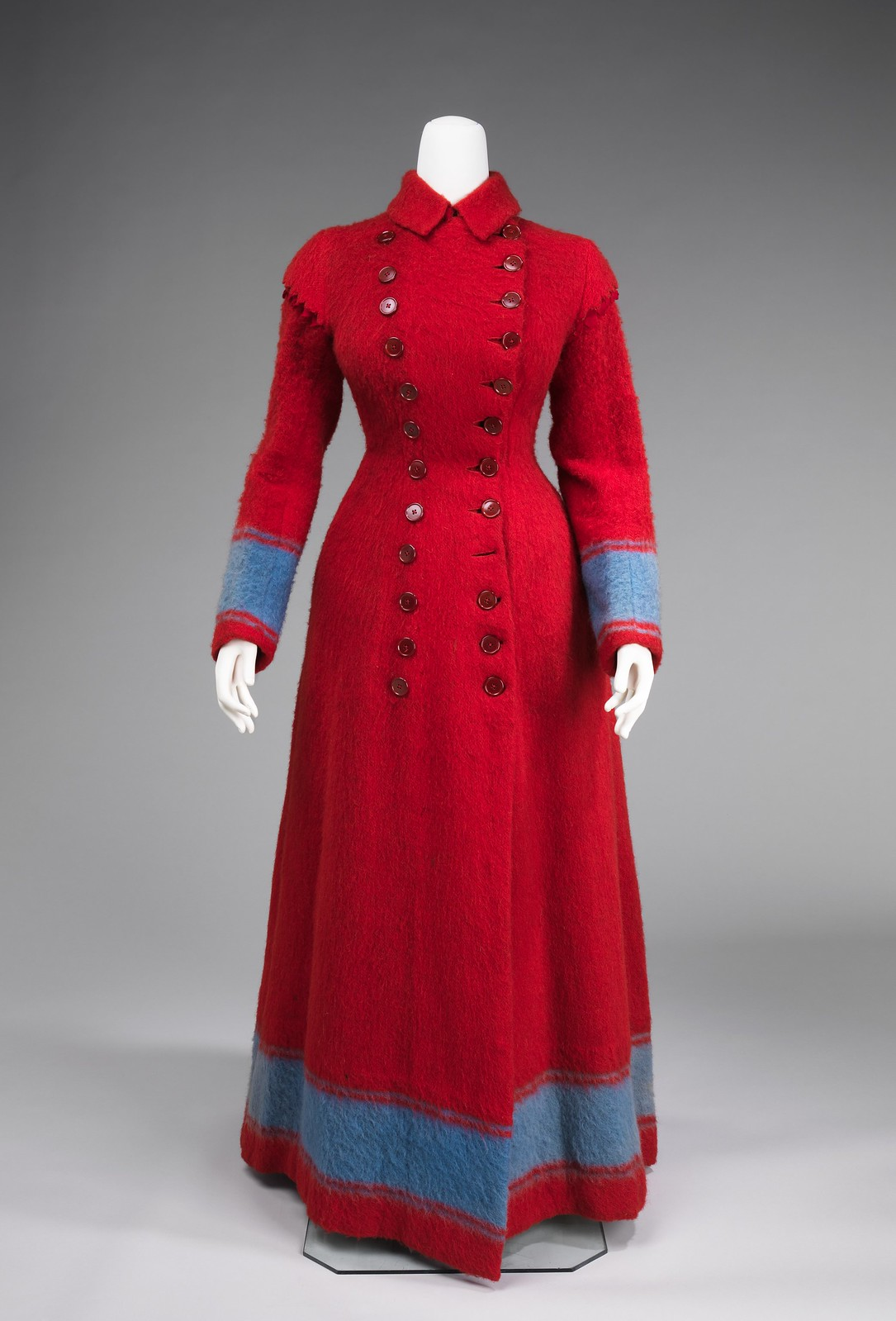 Dressing gown 1885–90 European wool, metmuseum