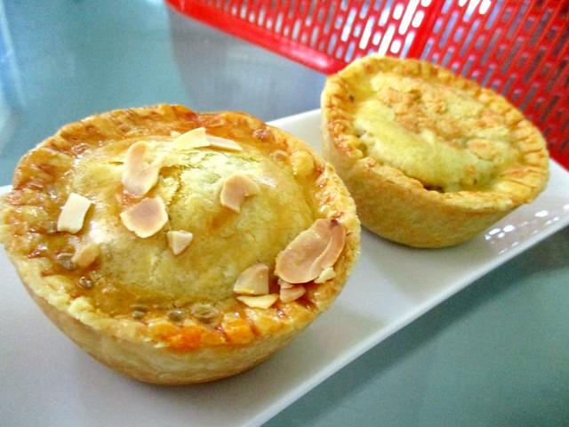Curry chicken & chicken potato pie