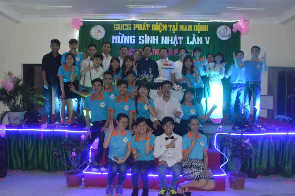 Sinh viên Công giáo Phát Diệm tại Nam Định mừng sinh nhật lần thứ V