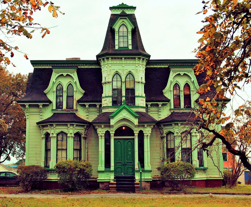 Second Empire in St John, New Brunswick, Canada. Formerly known as Earl House and built in 1870.. Image credit Julien Duguay