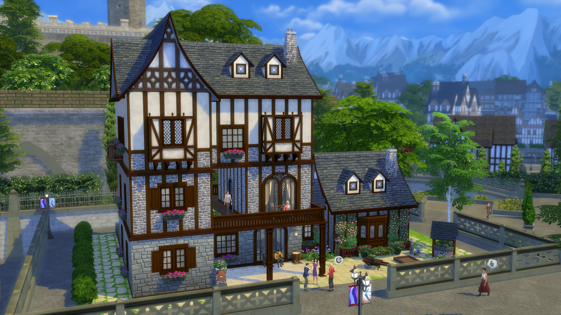 Riflettore sulla galleria case strepitose per windenburg for Piani di casa francese in tudor