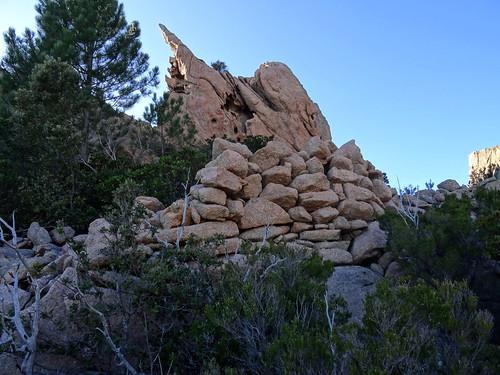 Les fortifications Est du casteddu