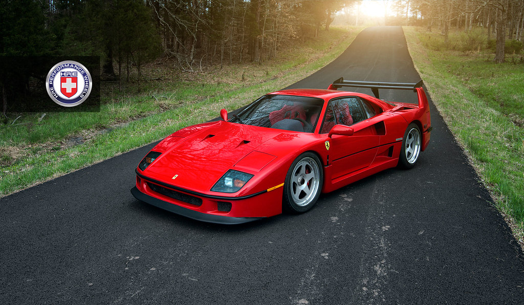 Hre Wheels Ferrari F40 With Hre Classic 305 Wheels