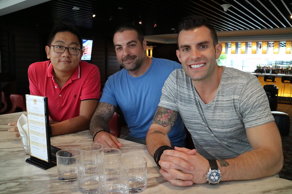 giveaway a day out in singapore with hgtvu0027s the cousins anthony carrino and - John Colaneri