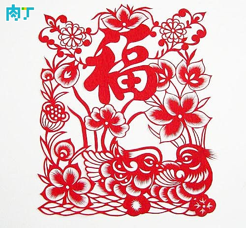 Basic features of Chinese folk paper-cut art and technique