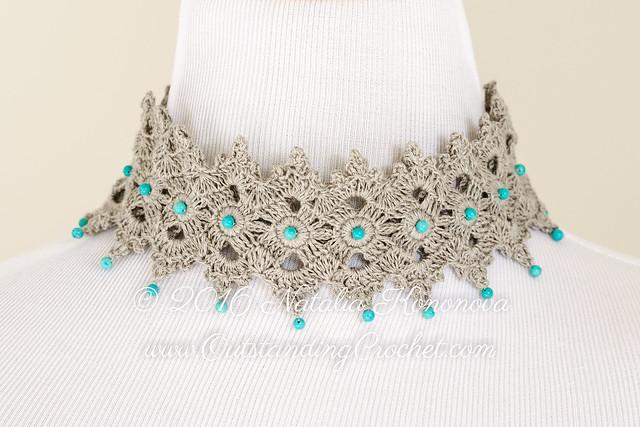 Outstanding Crochet Celtic Choker Necklace Crochet Pattern
