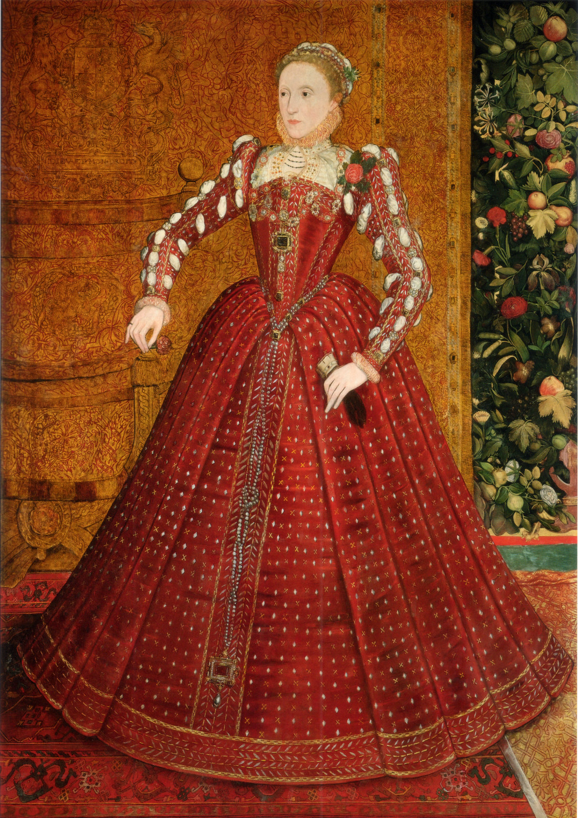 The 'Hampden' portrait, by Steven van der Meulen, ca. 1563.