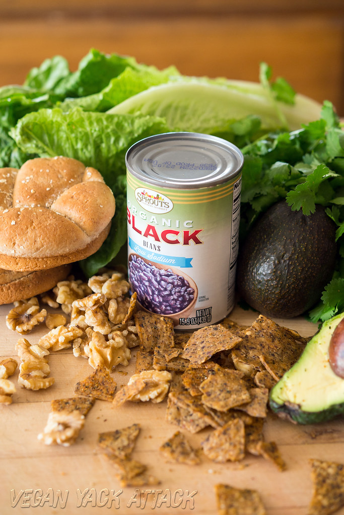 Vegan Supreme Nacho Burger