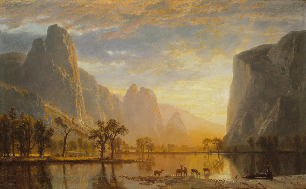 Valley of the Yosemite by Albert Bierstadt, 1864