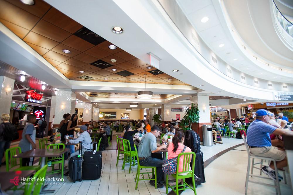 Hartsfield Jackson Airport Food Court