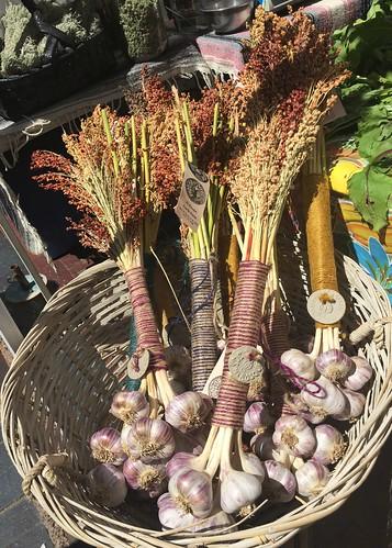 El Bosque Garlic Farms' hand-tied garlic