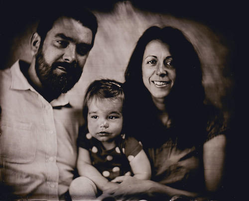 Nashville tintype photography family portrait