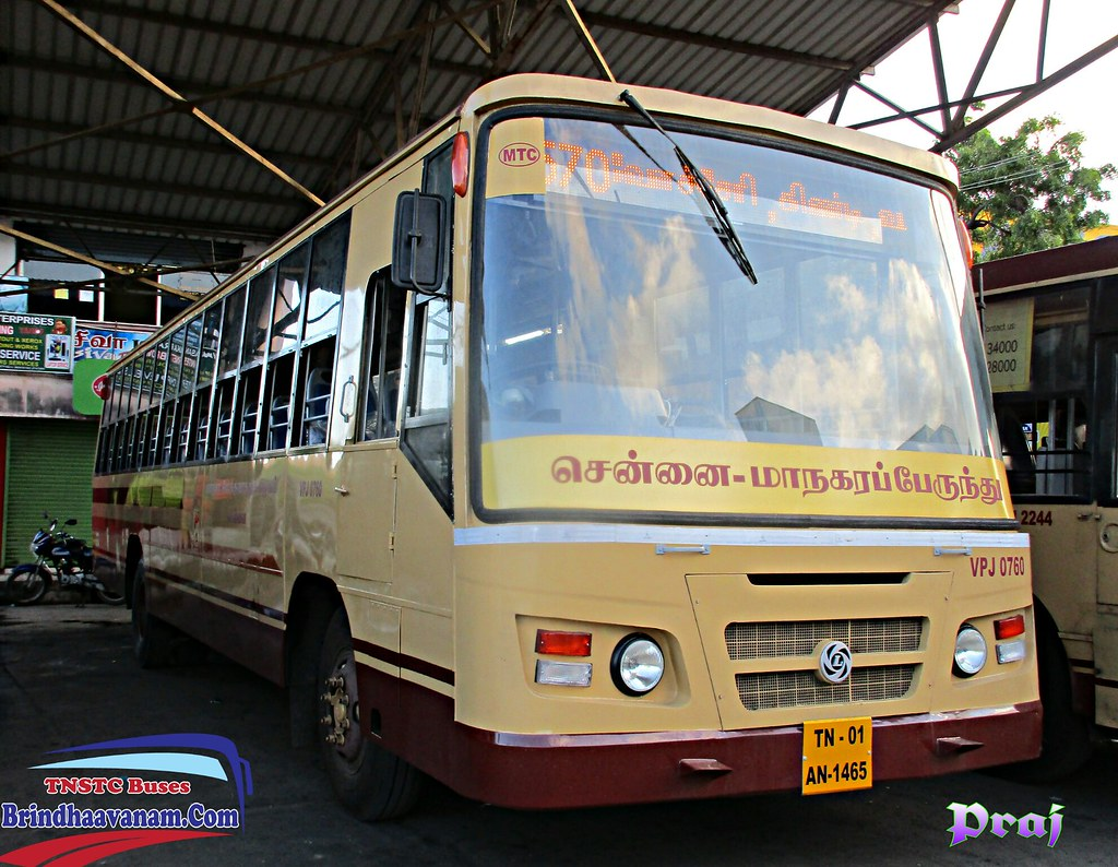 Chennai Bus Terminals Mtc Bus Other Road Transport