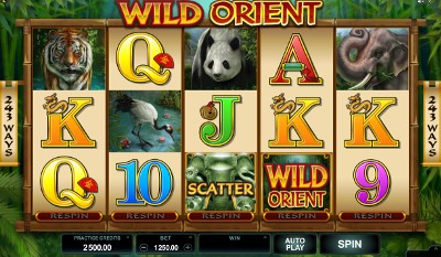 Wild Orient slot game online review