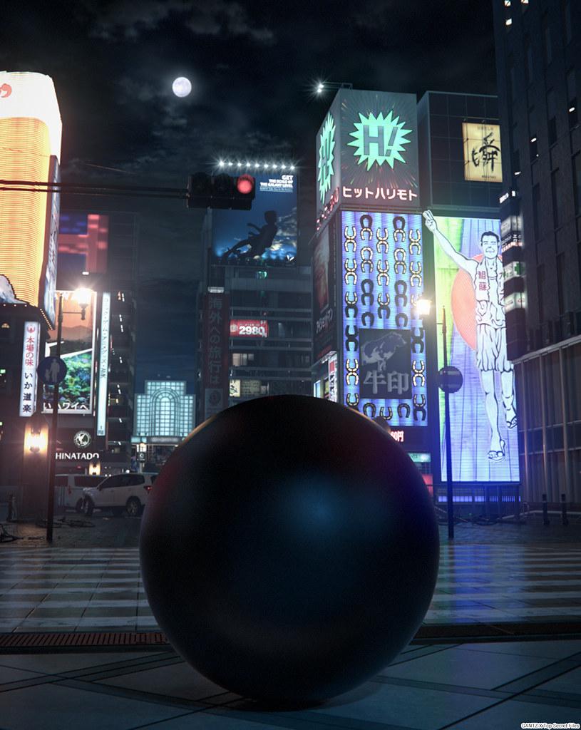 160419(2) - 殺戮都市3DCG「大阪」異鬼星人篇劇場版《GANTZ:O》宣布10/14上映、三種槍造型出爐!
