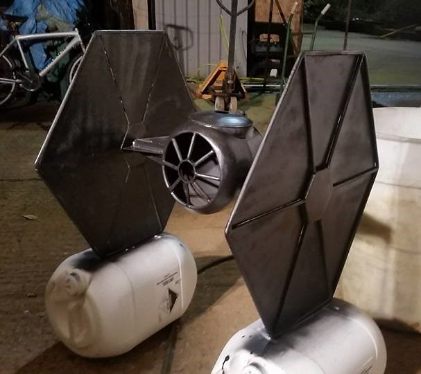 Star Wars TIE-Fighter burner by BC Bespoked