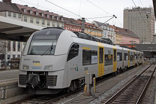 Der Desiro ML am Münchner Hauptbahnhof