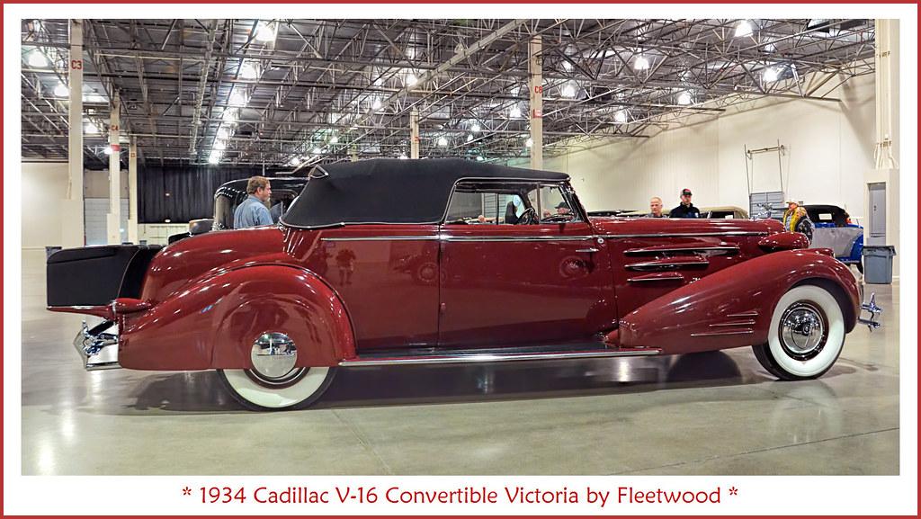 1934 Cadillac V 16 Convertible Victoria By Fleetwood Flickr
