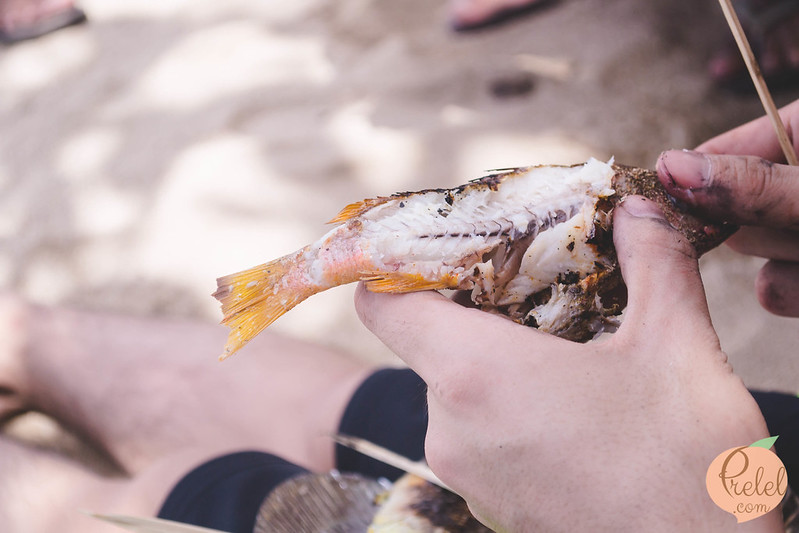 Prelel dares to dream camping at burot beach for Dreaming of eating fish