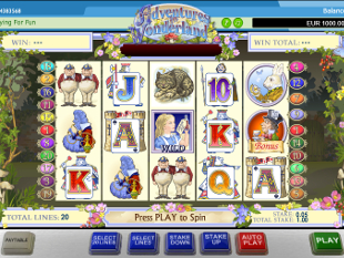 Adventure in Wonderland slot game online review
