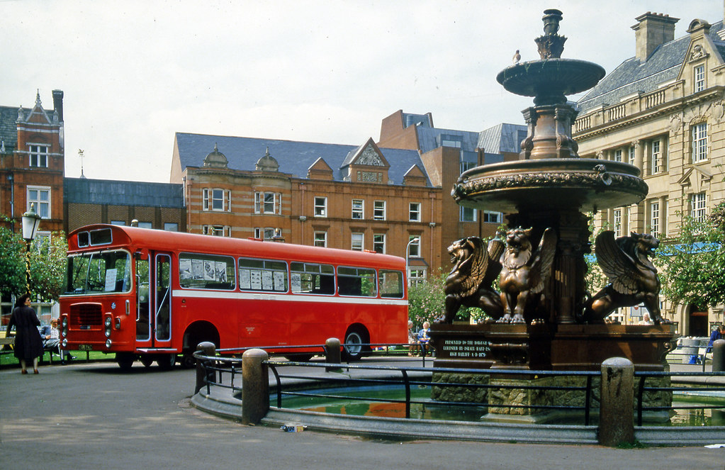 Bristol Railbus in Leicester