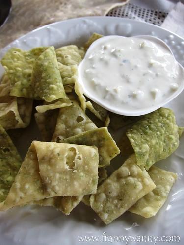 tzatziki lettuce chips marcia adams