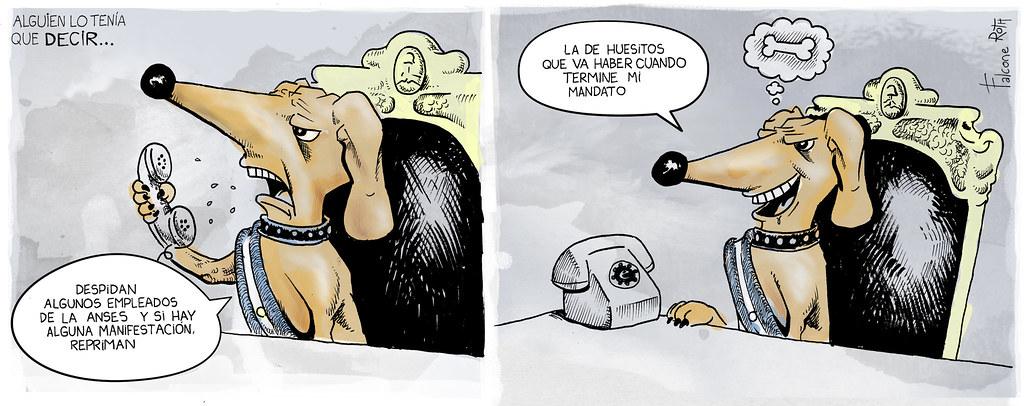 el perro balcarce de Mauricio Macri