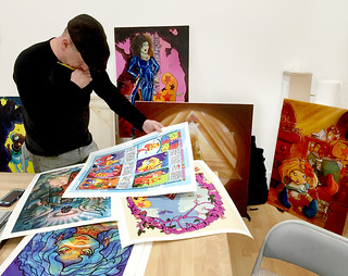 Limited Edition Prints by Mark Bode: Collection of Prints from Vaughn & Mark Bode