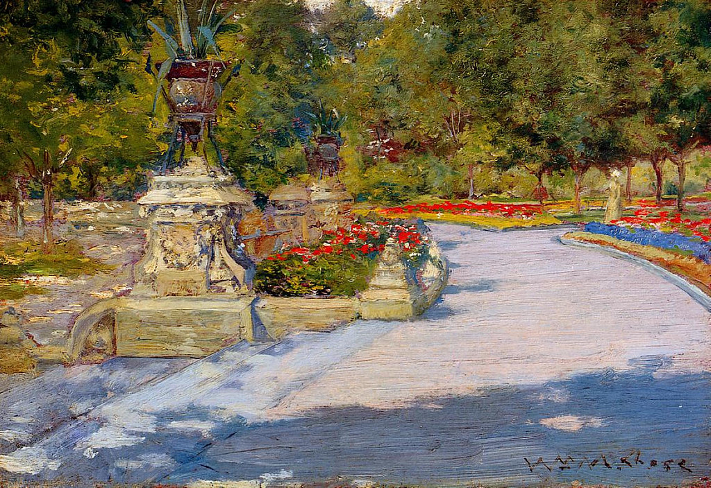 The Park by William Merritt Chase, 1887