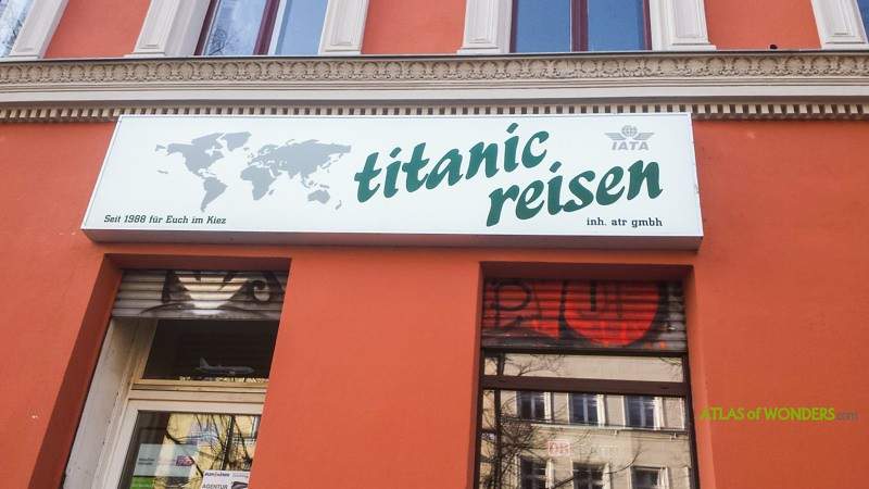 Titanic travel agency