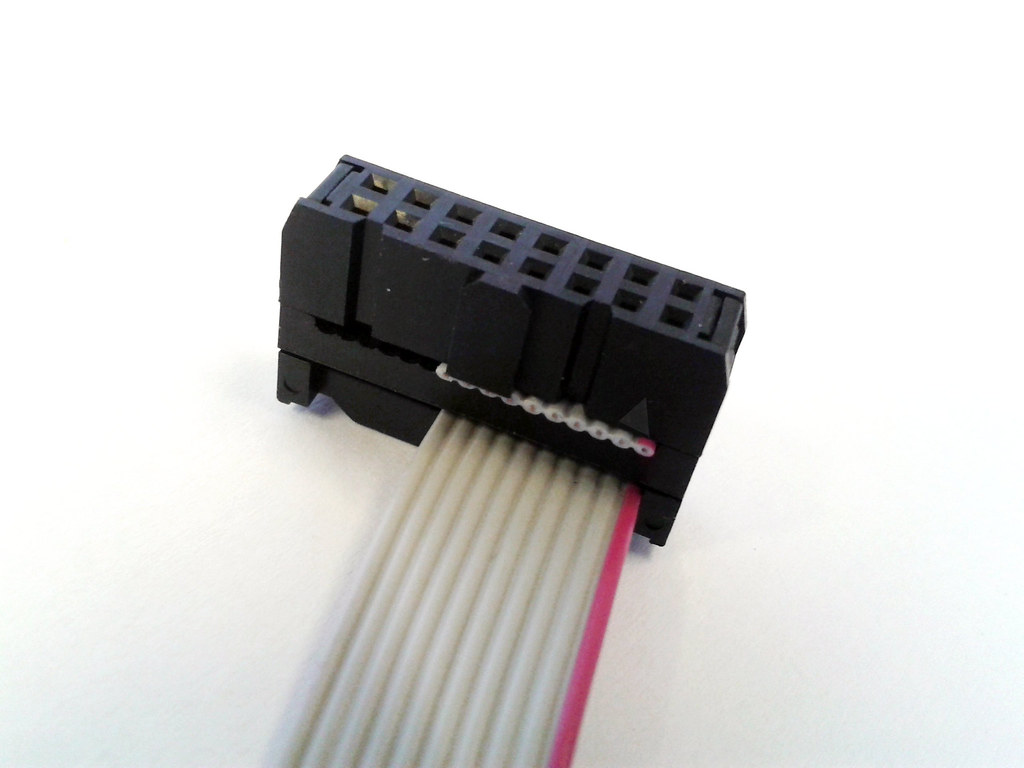 Electronic Ribbon Cable Connectors : Eurorack power connectors and ribbon cables electronic