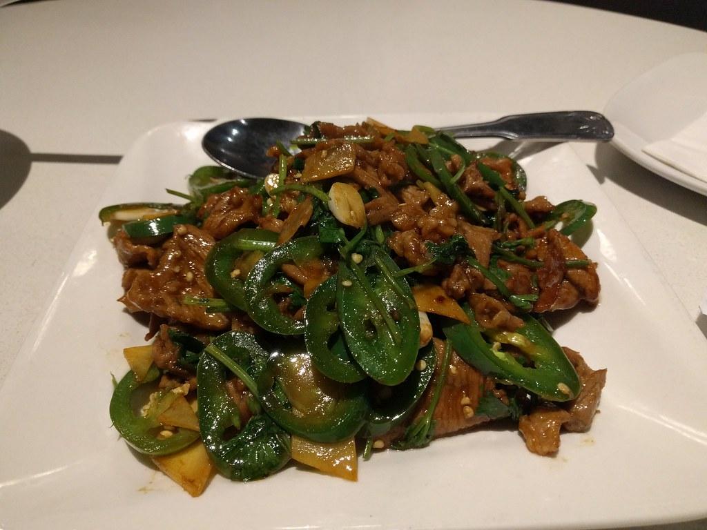 ... | 小炒羊 stir fried lamb with green chili p… | vschiu | Flickr