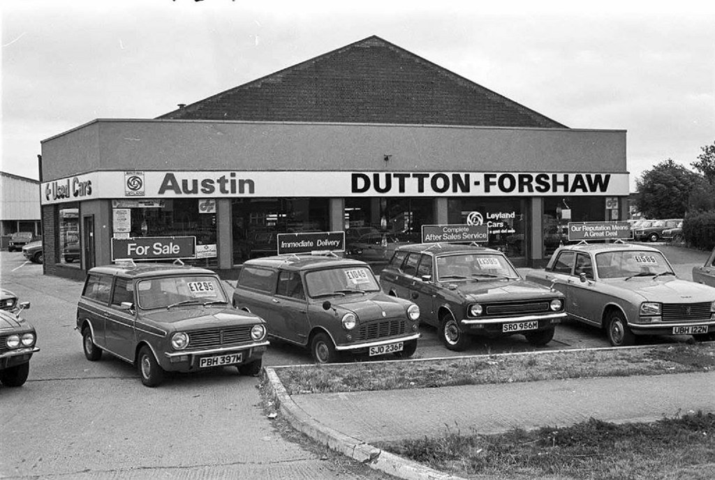 1977 dutton forshaw austin cars dealership john flickr Motor city car sales