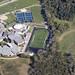 2010-09-29 Aerial of AHS Football Field and Ames High School w permission Snyder & Associates Inc