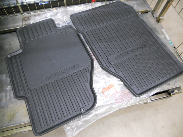 1998 2002 Honda Accord 4dr Black Front All Season Floor