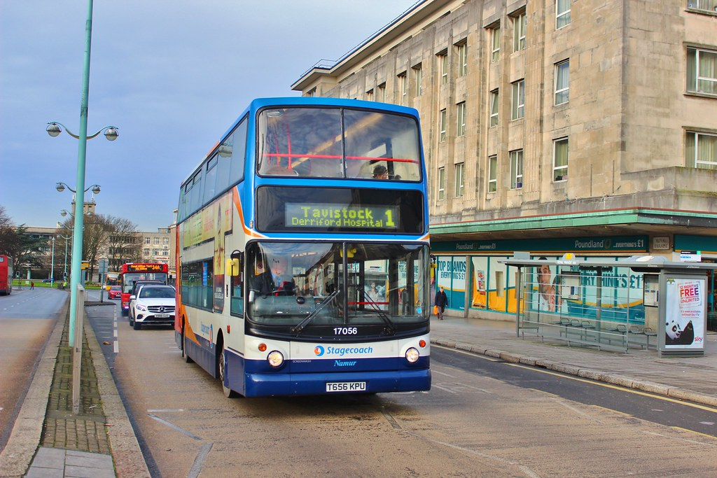 Stagecoach South West 17056 T656kpu Royal Parade Flickr