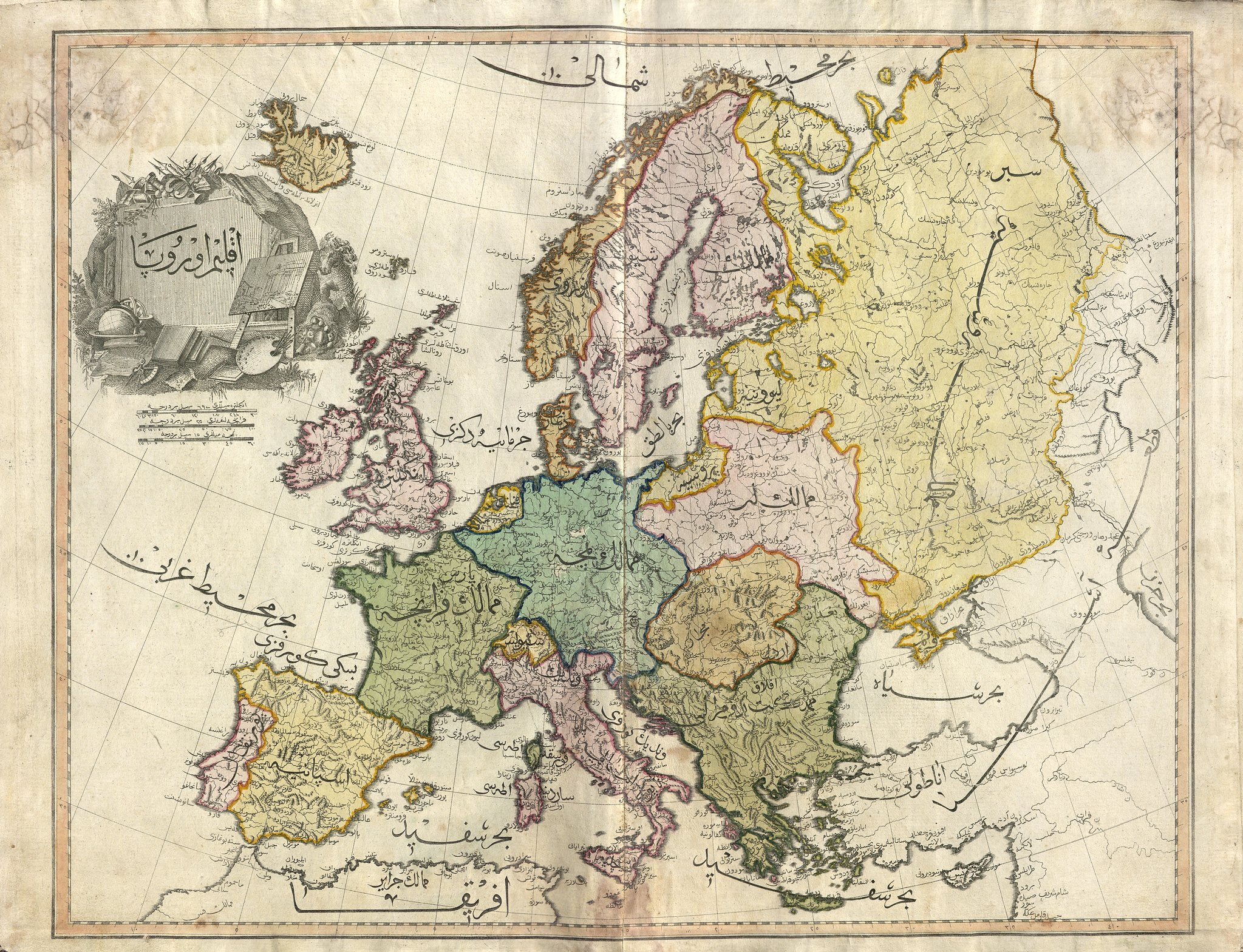 map of europe from the newly discovered cedid atlas 2048 x 1569
