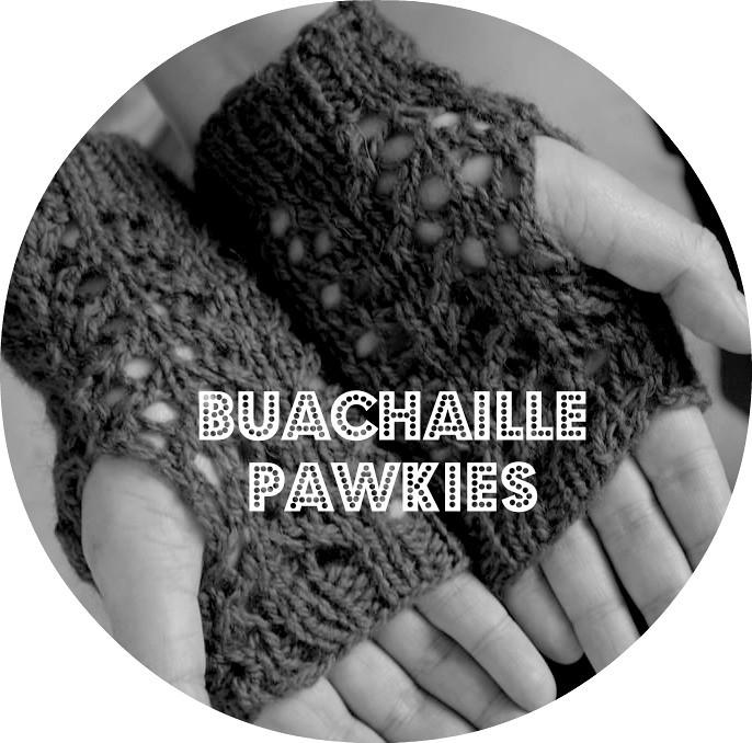 free kate davies yarn Buachaille pawkie mitten knitting pattern